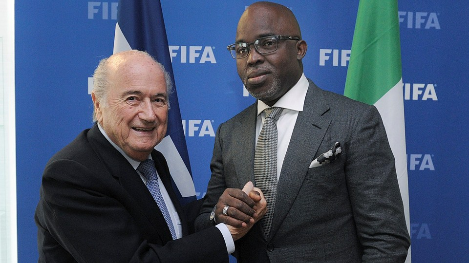 Pinnick to meet Blatter and Dyke