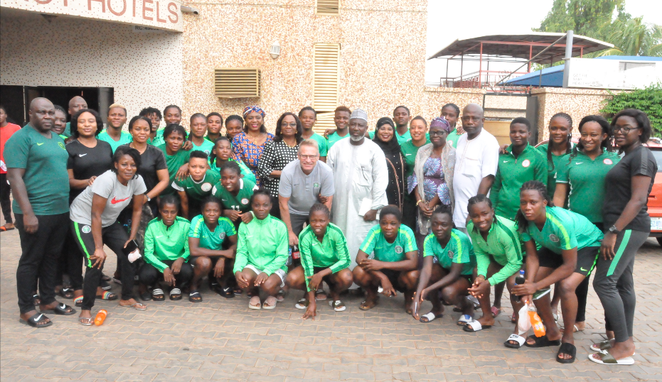 France 2019: Dons advise Super Falcons on hard work, focus and patriotism