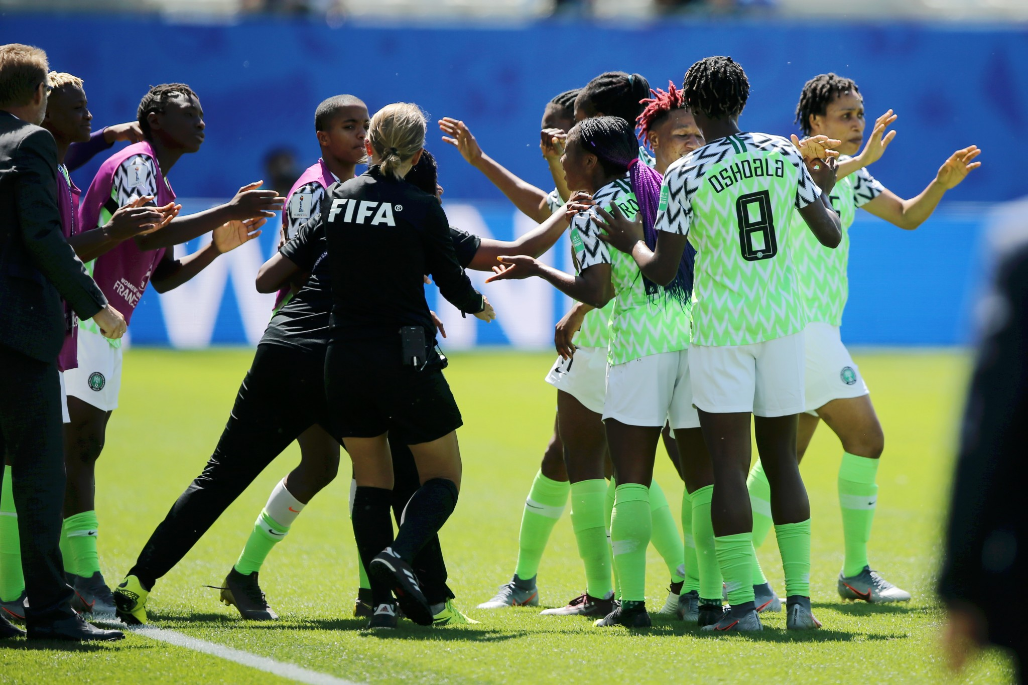 France 2019: Super Falcons to play Germany in Grenoble