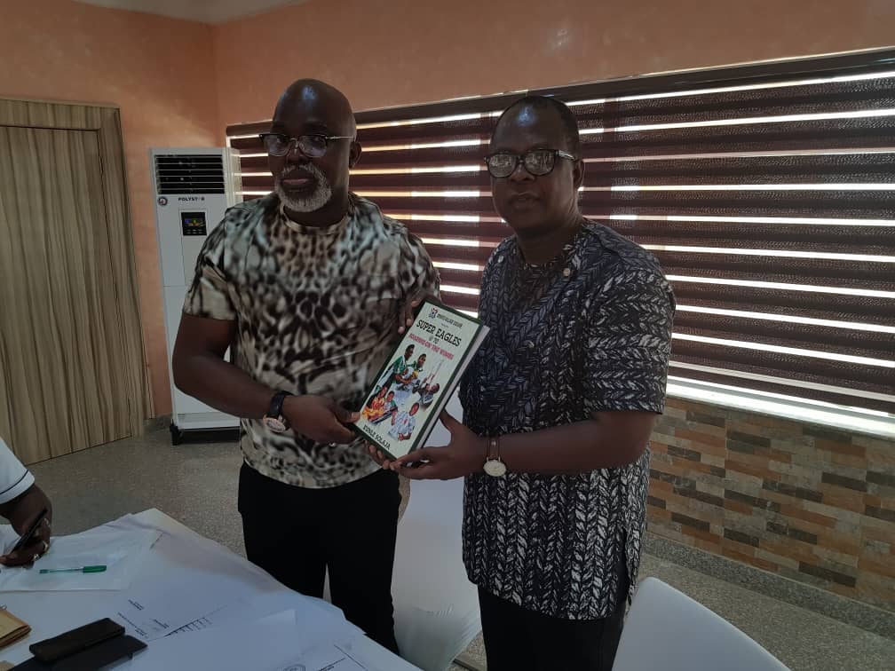 NFF partners Solaja on landmark book on Nigerian Football