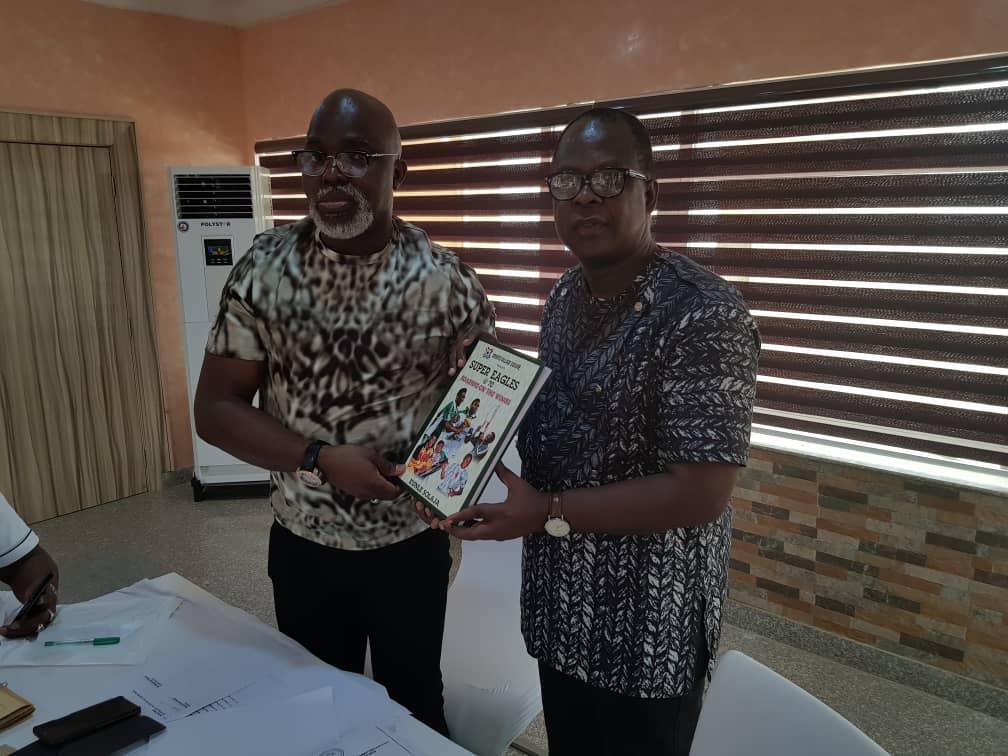 NFF partners Solaja on landmark book on Nigerian Football